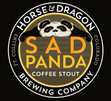 Sad Panda Coffee Stout Illustration