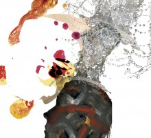 photo collage illustration about idea creation