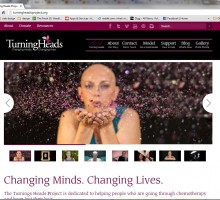 Wordpress template theme used as the base to build a quick and econimical site for the Turning Heads Project