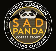 Sad Panda Coffee Stout Illustration
